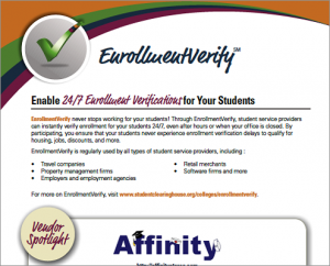 EnrollmentVerify Spotlight Flyer