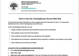 Secure Site Guide