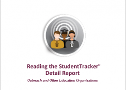 StudentTracker for Outreach Detail Report Guide