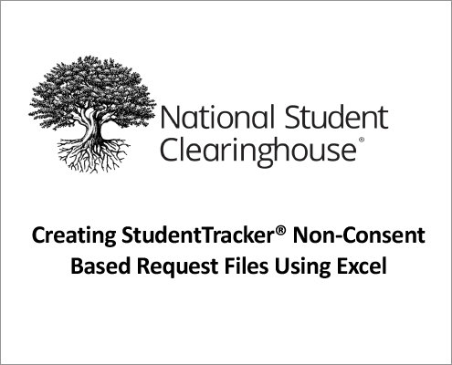 StudentTracker for Outreach Formatting Guide