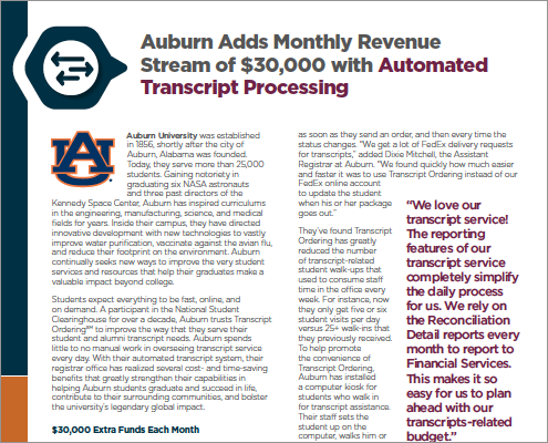 Case Study - Auburn University