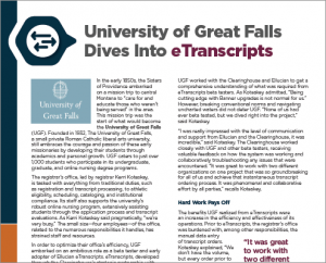 Case Study - University of Great Falls
