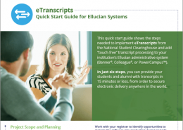 eTranscripts Quick Start Guide